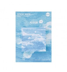 VIETY - cute Nature Color memo pad paper sticky notes