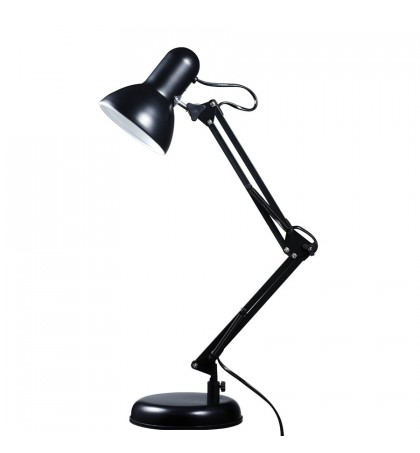 OEM - Flexible Black Adjustable Office Bedside Desk Lamp Study Reading Table Light