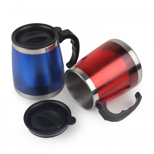 Oem 450ml Stainless Steel Small Thermos Mini Coffee Mug