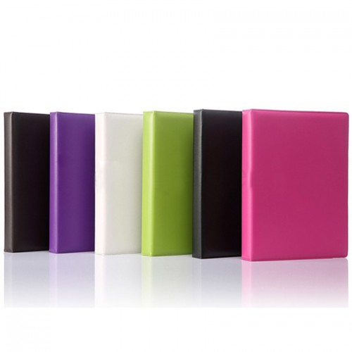 A5 Office Supplies Colorful Leather 6 Ring Binder