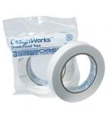 DELI - White Double Faced Adhesive Aisle Runner Tape 20 Feet In Length Oasis
