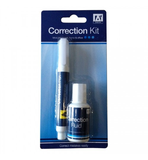 OEM - Correction Kit Set Pens Fluid Mistakes Easily For School Office And Home