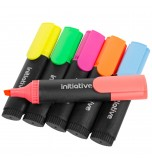 STABILO - Initiative Pack Of 6 Assorted Highlighter Pens Bright Fluorescent Book Markers