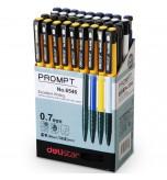 DELI - 36 Piece 4 Colors 0.7mm Blue Ink Ballpoint Pens Office supplies
