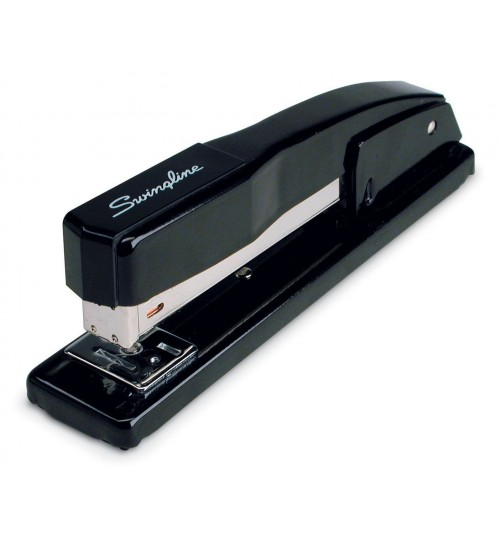 SWINGLINE - Commercial Desk Stapler 20 Sheet Capacity Black
