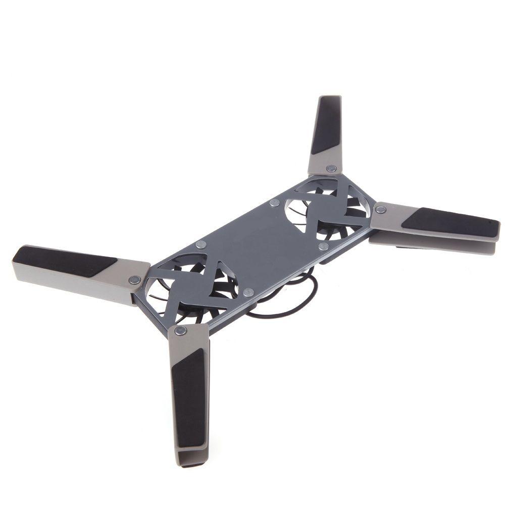 Portable Travel Folding Mini Usb Pad 2 Fans